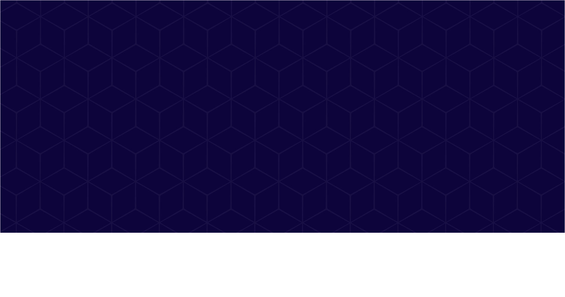 banner pattern with navy background